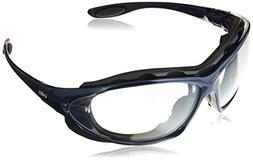 Uvex S0620X Seismic Safety Eyewear, Metallic Blue Frame, Cle