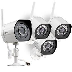 Zmodo Wireless Security Camera System  , Smart Home HD Indoo