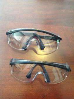 UVEX adjustable safety glasses Z87 130 mm - 150mm