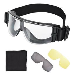Airsoft Goggle X800 Tactical Eyewear Sport Glasses Anti Fog
