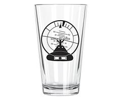 altitude indicator pint glass
