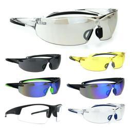 ANSI Z87.1 Warp Around Mens Shatterproof Safety Glasses U6