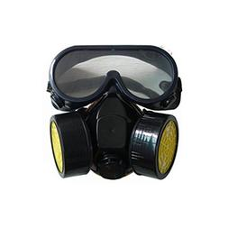 Anti-dust Spray Chemical Gas Dual Cartridge Respirator Paint