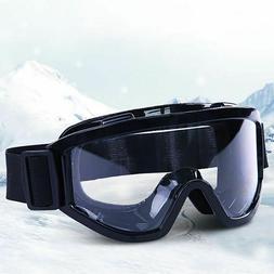Anti Fog Dust Proof Ski Mask Glasses Skiing Snow Men Women S