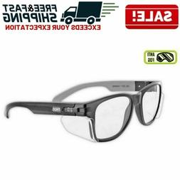 Anti Fog Work Safety Glasses Permanent Side Shields Scratch