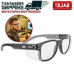 Anti Fog Work Safety Glasses Permanent Side Shields Scratch
