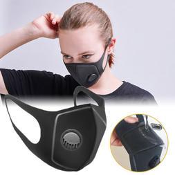 Anti PM 2.5 Pollen Dust Fog Face Mask Anti-fog Carbon Washab