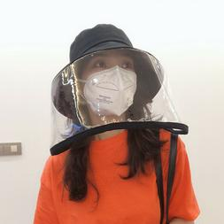 Anti-Saliva Protective Hat Dust-Proof Mask Cap Anti-Fog Eye