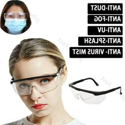 Anti virus Safety Goggles Anti Fog Dust Splash-proof Glasses