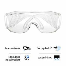 Anti Virus Safety Goggles Glasses Eye Protection Work Lab An