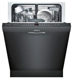 """Bosch 24"""" Ascenta Series DLX Black Built-In Dishwasher"""