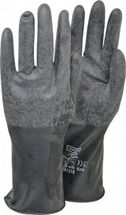 Honeywell B131R/8 Mil Unsupported Butyl Glove with Rough Fin