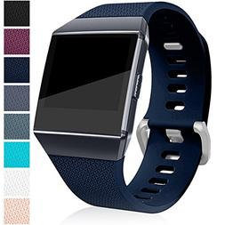 Bands for Fitbit Ionic, Navy Blue Small