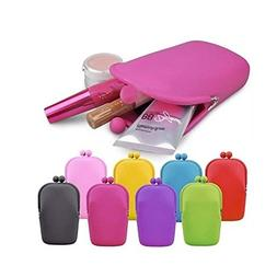 Ownsig Silicone Cosmetic Bag Jelly Color Can Used For Cellph
