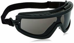 barricade smoke gray anti fog safety goggles