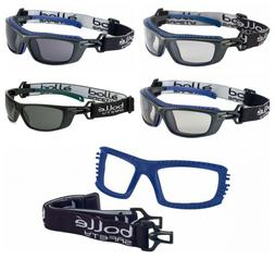 Bolle BAXTER Safety Glasses Goggles Anti Mist & Scratch Head