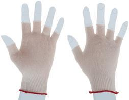 Berkshire BCR Nylon Half-Finger Glove Liners SK, Small Bulk