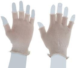 Berkshire BCR Polyester Half-Finger Glove Liners, Regular Bu