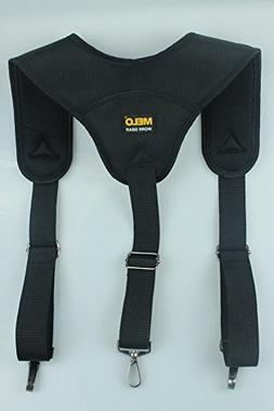 Tool Belt Suspender 3 point padder suspenders plus 3 pack su