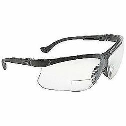 HONEYWELL UVEX Bifocal Safety Read Glasses,+1.50,Clear, S376