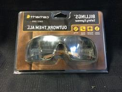 Carhartt Billings Safety Glasses with Clear Lens CH110STCS A