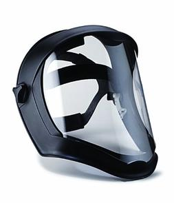 Uvex Bionic Face Shield with Hard Hat Adapter and Clear Poly