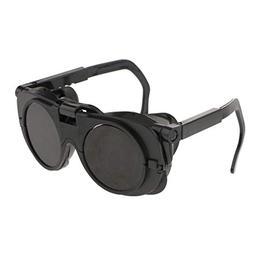 D DOLITY Black Welding Soldering Safety Goggles Flip up Eye