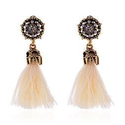 Women's Bohemian Earrings, Mosunx Long Tassel Fringe Dangle