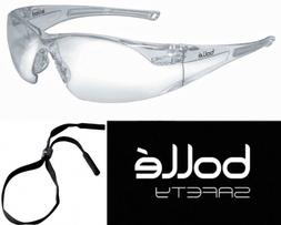 Bolle 40070 Rush Safety Glasses with Clear Anti-Scratch and
