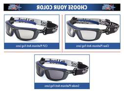 Bolle Baxter Safety Glasses Goggles ANSI Z87+ Work Eyewear C