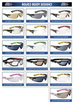 Bolle Rush Plus Safety Glasses Sunglasses ANSI Z87+ Work Eye