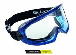 Bolle SUPERBLAST CLEAR Safety Glasses High Impact Platinum b