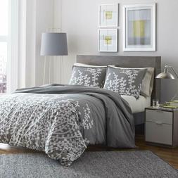 branches gray cotton comforter set full queen