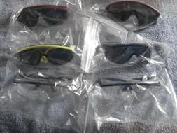 BRAND NEW PAIR UVEX Z87 ADJUSTABLE SAFETY GLASSES ****READ D