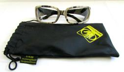 BODY GLOVE Brown Camo Safety Glasses 90411 Clear Full Frame