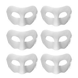 Aspire Bulk DIY Masks Craft Paper Halloween Masquerade Face