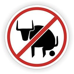 No Bull$hit Hard Hat Sticker / Decal / Label Tool Lunch Box