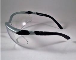 3M BX Dual Reader Safety Glasses with Clear Anti-Fog Lens +1