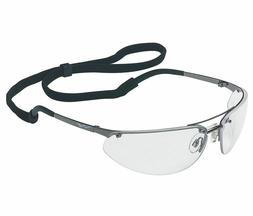 North by Honeywell Anti-Fog Safety Glasses, Clear Lens, Gunm