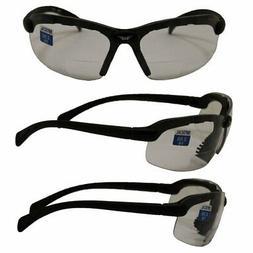 Global Vision Eyewear C-2 Bifocal 2.5 Lens Magnification Saf