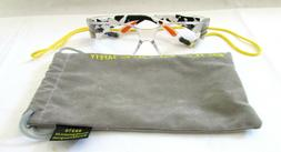 BODY GLOVE Camo White Safety Glasses 90370 Clear Full Frame