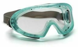 Pyramex Capstone Chemical Green Direct/Indirect Goggle With