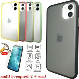 Case + 2 Glass Protectors for iPhone 11  Anti-Scratch, Prote