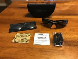 WILEY X CH4701 Valor Apel Eyewear Grey/Clear Lens Matte Blac