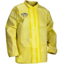 Lakeland ChemMax 1 Taped Seam Jacket, Disposable, Medium, Ye