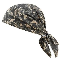 Ergodyne Chill-Its 6710CT Evaporative Cooling Dew Rag, Camo