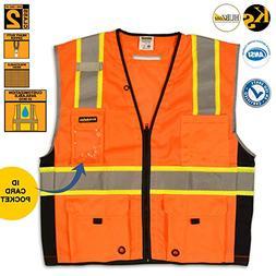 KwikSafety Class 2 Premium Safety Vest | Lightweight Reflect