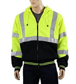 Safety Depot Class 3 Heavy Duty Refletive Two Tone Hooded So
