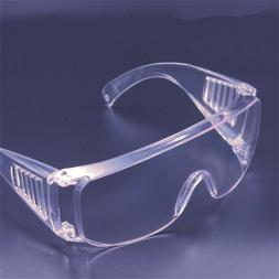 Clear Eye Protection Goggles DIY Safety Eyewear Protective G