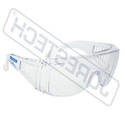 JORESTECH CLEAR LENS SAFETY FITS OVER GLASSES UV